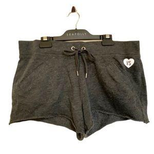 Victoria's Secret Women's Heather Dark Grey Shorts